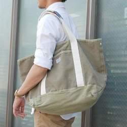 ガチで使えるオフの日バッグはどれ? 休日は定番キャンバストートがあれば十分