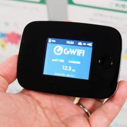 世界100カ国で使えるクラウド型SIM搭載のWi-Fiルーター「GWiFi」が日本上陸!