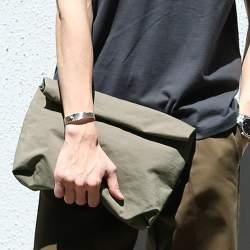 オトナの新常識アイテム「バッグインバッグ」を都会的に着こなす