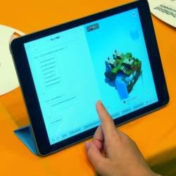 小学生がiPadでプログラミングに挑戦!文部科学省の「こども霞が関見学デー」