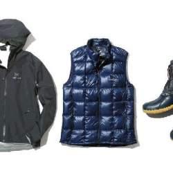 大人のSmart Outdoor服入門「ダークトーンのアウトドア服で大人感を演出!」
