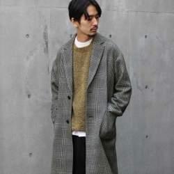 シックな魅力がたまらないクラシックアウター。おすすめのグレンチェックコートと着こなし術