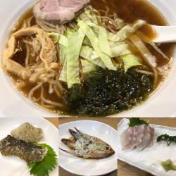 高円寺、アルコールコール。愛情こもった魚料理と海老だしラーメンの店「三神森」