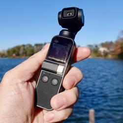 西田宗千佳のトレンドノート:小型でブレないカメラ「Osmo Pocket」をチェックする