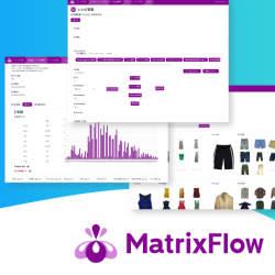 マウス操作だけでOK。プログラミング不要のAI構築プラットフォーム「MatrixFlow」
