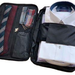 バッグの中身がぐちゃぐちゃな人必見。出張先のあの悩みを解決する収納バッグが新登場
