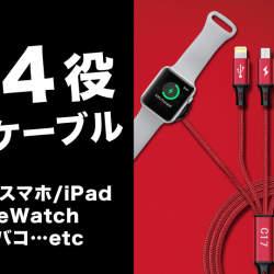 増える充電ケーブルを1つにまとめる「All-In-One Charger Cable C17」が先行発売