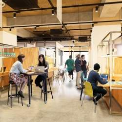 恵比寿にワークプレイス&賃貸住宅の「co-ba ebisu」開業へ、働くと暮らすを融合