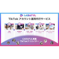 「インスタ映え」より「TikTok映え」をめざせ! CARAFUL、企業のTikTokアカウント運用代行サービスを開始