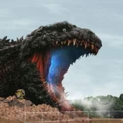 全長約120メートルの等身大ゴジラが淡路島に上陸!新アトラクション、2020年夏にオープン予定