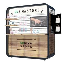 エキナカスペースをシェアリング。新型ポップアップストア「SUKIMA STORE」の実証実験開始