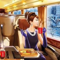 通勤バスで朝食を。ネスレ、バス会社と合同で予約制豪華バスを運行へ