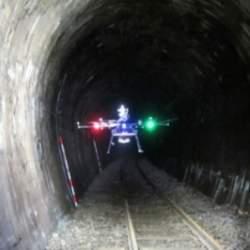 GPSが使えないトンネルでドローン検査の実験に成功!JR北海道とゼンリンデータコムが開発