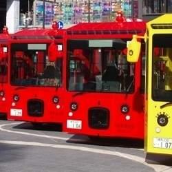 池袋の街を電気バス「IKEBUS」が巡る!水戸岡鋭治デザイン、11月27日から運行開始