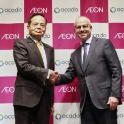 イオン、英ネットスーパーと提携で最先端技術を投入。2030年までに売上6,000億円を目指す