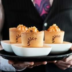 ニュージーランド航空が「食べられるコーヒーカップ」を試験的に導入