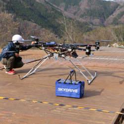 SkyDriveが大林組とタッグ!30キロ以上を運搬できる「カーゴドローン」実証実験と予約受付を開始