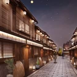町家の並ぶ路地全体が1つの宿に!京都に来春「Nazuna 京都 椿通」が開業、取り壊し直前の街を再生