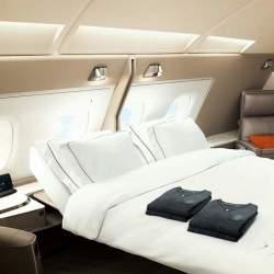 シンガポール航空が成田-シンガポール路線に新客室仕様のA380-800Rを投入 ビジネスの利便性を重視