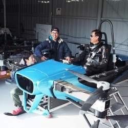 SkyDrive「空飛ぶクルマ」の有人飛行試験を開始 2023年発売を目指す