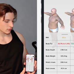 今年こそ理想の肉体を!肉体改造の進捗が一目でわかるドイツ発のアプリ「BMI 3D」