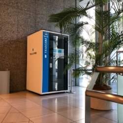 作業用ブース「テレキューブ」が国内最大級の会議室シェアと連携 いつでもリモートワークを実現