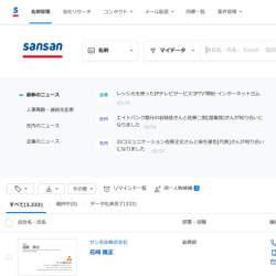 Sansanと「クラウドサイン」が連携、契約情報の確認を容易に