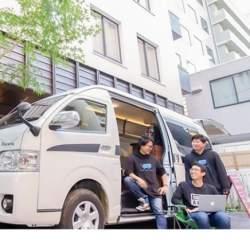 Carstayが小田急グループと連携  訪日外国人が多いコワーキングスペースでキャンピングカーを展開