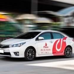 カンボジアで自動車ラッピング広告事業がスタート