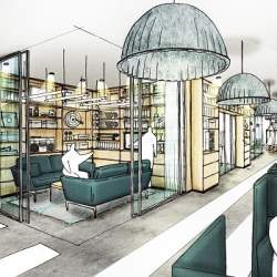 品川プリンスホテルに「宿泊者以外も利用できるコワーキングスペース」がオープン