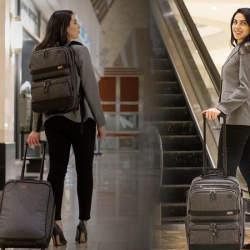 出張の手荷物が1つにまとまるスーツケースVenture Rolling Packが発売!