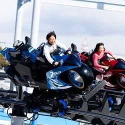"""「心の準備はできたか?Let's Ride!」日本初""""バイク型コースター""""導入に込めた担当者の熱意と原動力"""