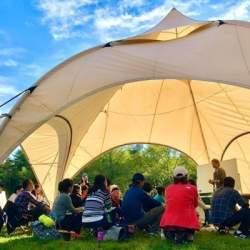 屋外を活用した「オープンエアミーティング」プランが登場、密閉空間でない非日常環境でゆったり会議を
