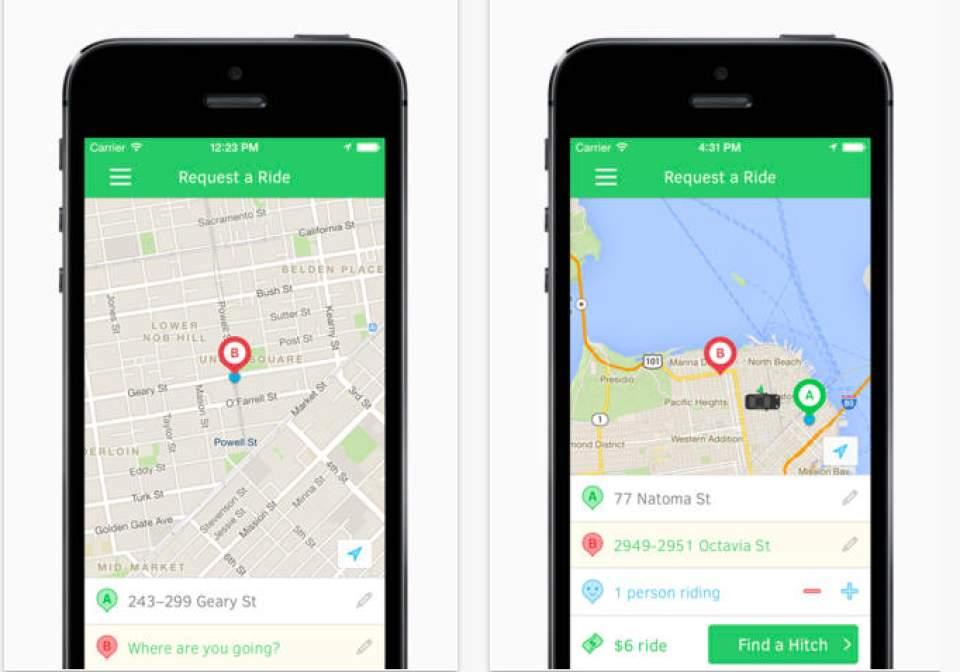 Uberよりも革新的かも?相乗りでどこよりも安く移動できるサービス「Hitch」 4番目の画像