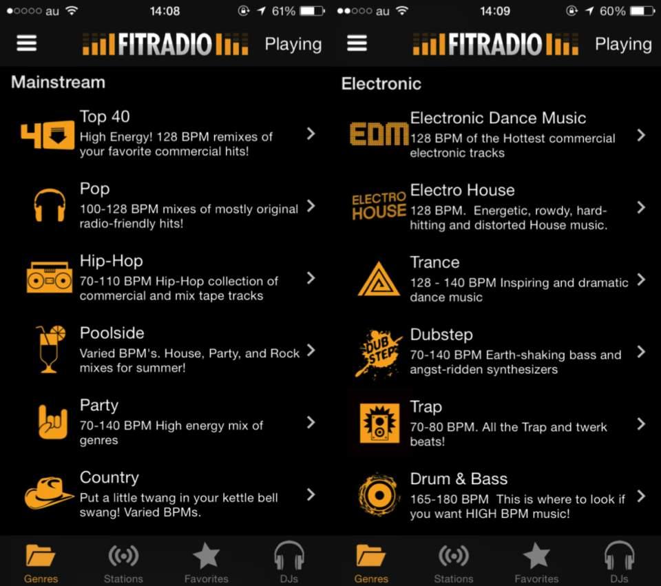 運動に最適化されたBGMアプリ!「FIT Radio」が予想以上にユニークで面白かった 3番目の画像