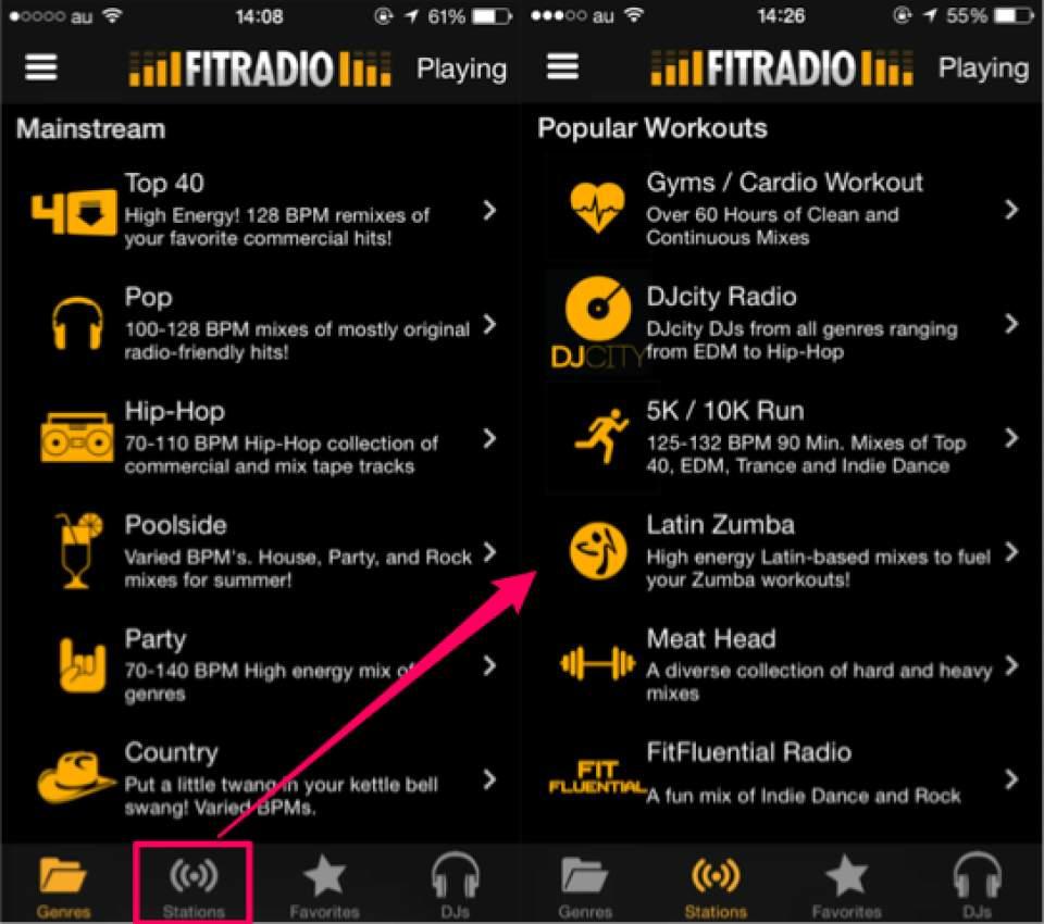 運動に最適化されたBGMアプリ!「FIT Radio」が予想以上にユニークで面白かった 5番目の画像