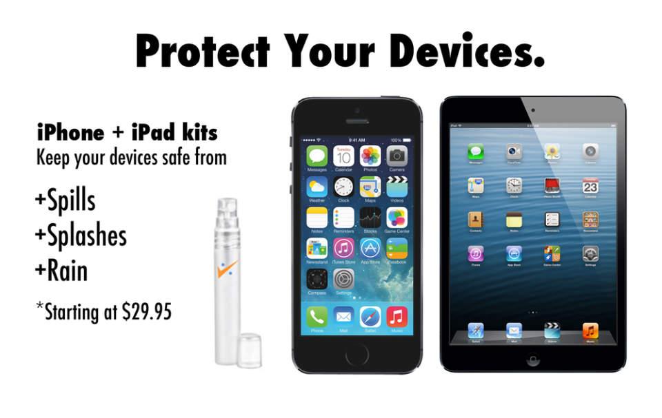 防水、防塵、防刃!魔法のスプレー「Impervious」であなたのiPhoneが無敵に 2番目の画像