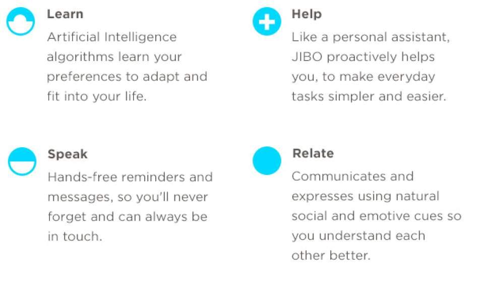 INDIEGOGOで目標額の12倍を調達!高い情緒的能力を持つ世界初の家庭用ロボット「JIBO」 9番目の画像