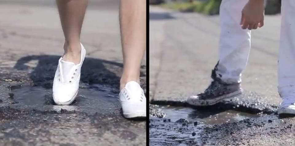 【動画】超撥水性の防水スプレー「LiquidOff」が水を弾きすぎて逆に怖い 4番目の画像