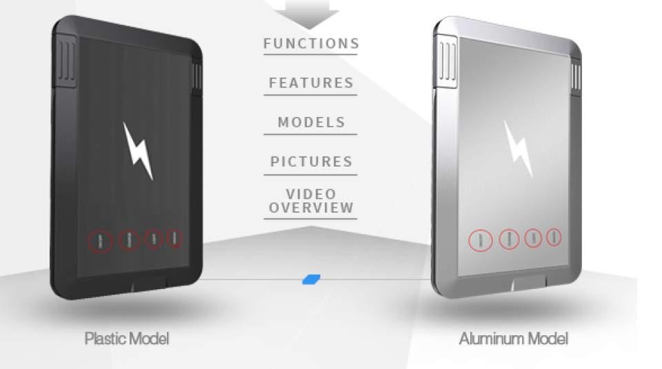 充電からデータのバックアップまで出来る!財布に入るカード型多機能充電器「SMART CARD」 9番目の画像