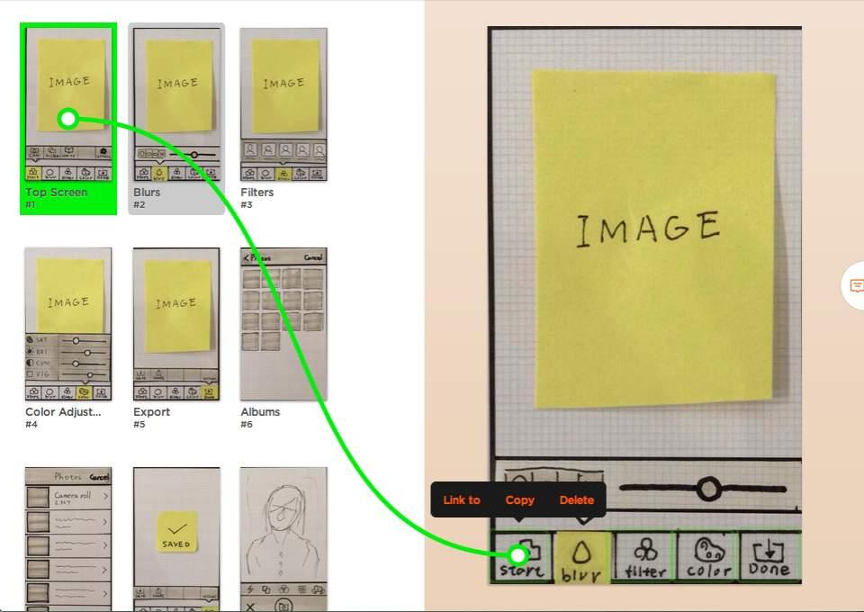 ラフ画を描くだけでプロトタイプを作ってくれるアプリ「POP」プログラミング不要で簡単にできる! 4番目の画像
