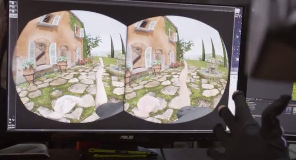 ついに仮想空間に体が入る(手だけ)!指一本まで反映するグローブ型VR機器「Control VR」 3番目の画像