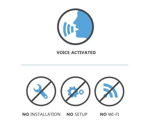 合い言葉は「Vocca スイッチライト!」声に反応して点灯・消灯するガジェット「Vocca」 6番目の画像