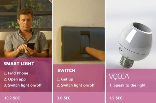 合い言葉は「Vocca スイッチライト!」声に反応して点灯・消灯するガジェット「Vocca」 7番目の画像