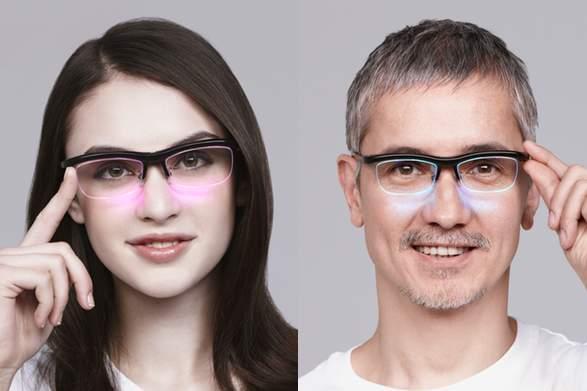 メガネとスマホが連動!音と光で仕事からパーティーまで楽しくスマートにするメガネ「雰囲気メガネ」 1番目の画像