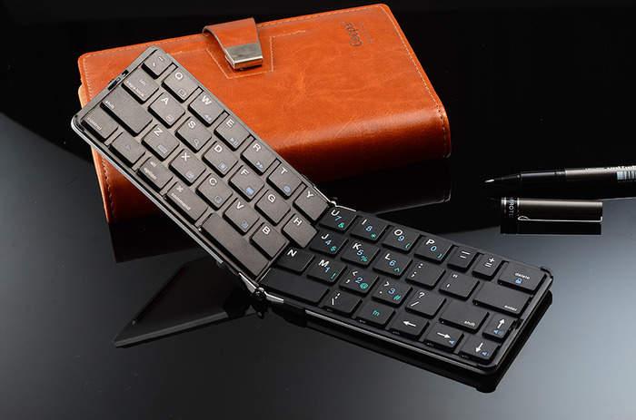 まだそんな大きいキーボードを持ってるの?ポケットに入る折りたたみキーボード「FLYSHARK」 1番目の画像
