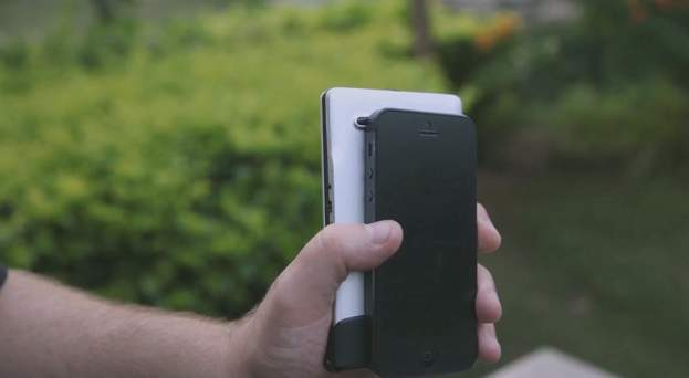 まだそんな大きいキーボードを持ってるの?ポケットに入る折りたたみキーボード「FLYSHARK」 3番目の画像