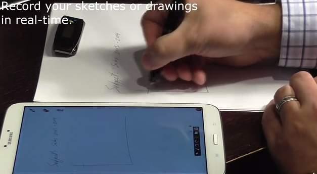 もうノートをスキャンする必要なし!書いたものと同じものがスマホにリアルタイム同期されるペン登場 3番目の画像