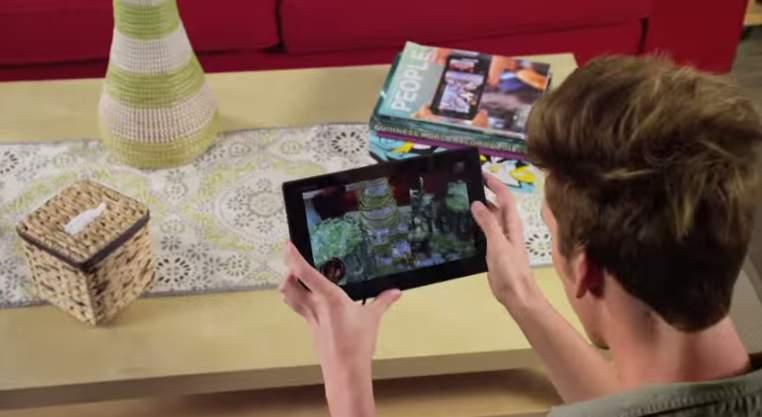 自分の部屋がゲームの世界に!大人の遊びゴコロをくすぐる最新のAR技術「Vuforia」 5番目の画像