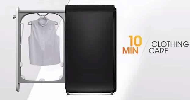 10分で洗濯・乾燥・アイロン!今すぐ着たい衣類を速攻ケアする超スリムな次世代家電「Swash」 1番目の画像